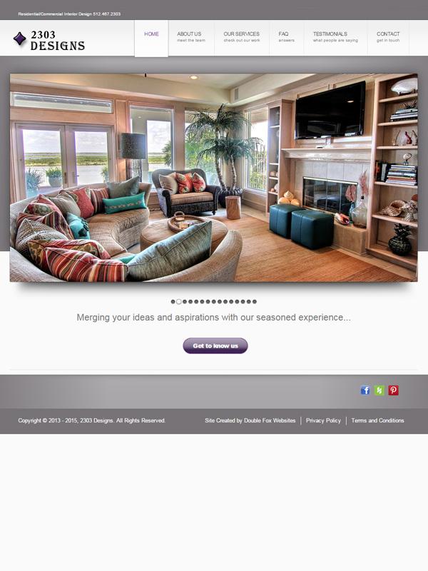 2303 Designs Website
