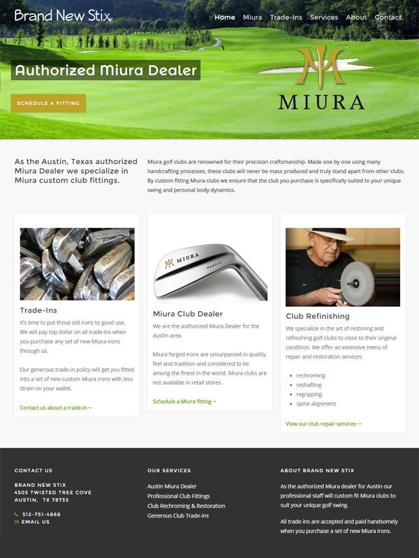 Brand New Stix Website