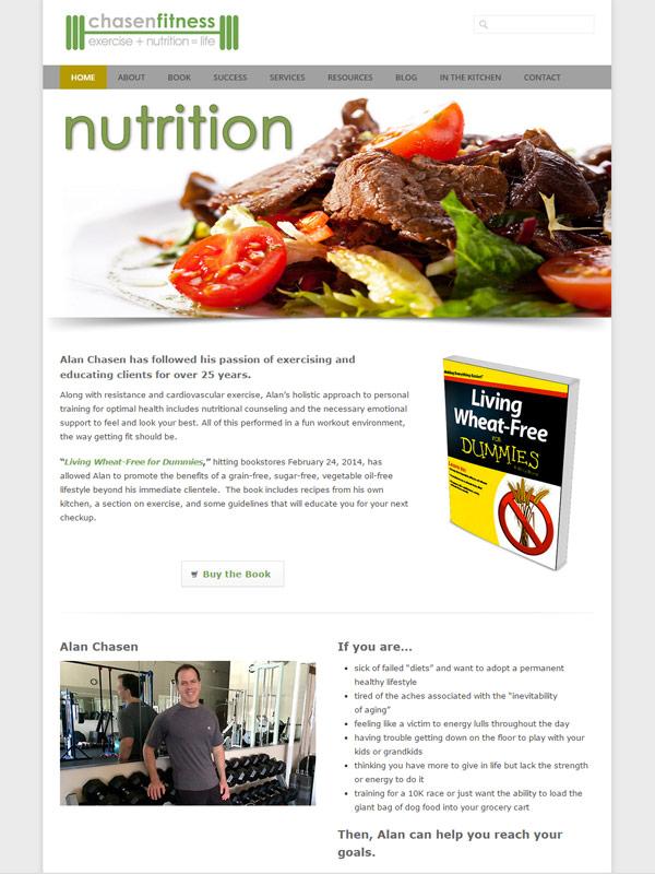 Chasen Fitness Website