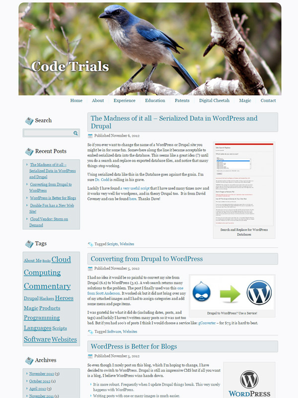 Code Trials Website
