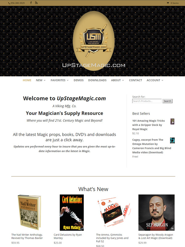 UpStage Magic Website